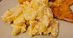 Az ügyes kezű nagymamák néhány szerény alapanyagból is csodát tesznek a családi étkezőasztalra, a Selmeczi krumpli is ilyen. Risotto, Mashed Potatoes, Cauliflower, Cheese, Vegetables, Ethnic Recipes, Food, Whipped Potatoes, Smash Potatoes