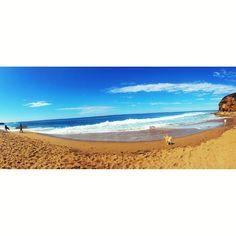 Bells  #BellsBeach #Torquay #Surf #Coast #Walk #Active #Healthy #Beach #Ocean #Dog #HDR #Panorama #Vsco #Vscocam by tazmcdonald http://ift.tt/1KnoFsa
