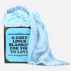 Linus Blanket ;) @Christopher Stowe Stowe Stowe Plumb! - i sooo need this!