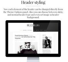 WP Theme Of the Day #152 – BuzzBlog – Minimal & Personal WordPress Blog Theme