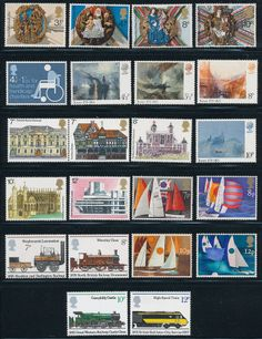 M457  GB COLLECTION OF 5 COMMEMORATIVE MINT SETS ISSUED IN 1974-5 2.75pounds
