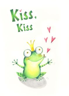 Ela Jarzabek - frog kiss.jpg