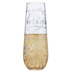 what an adorable champagne flute shape! when i have a house and room for storage...I definitely need to look into these