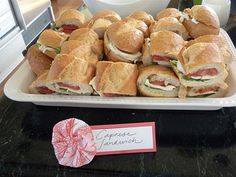 Everyday Delights: My bridal shower: food