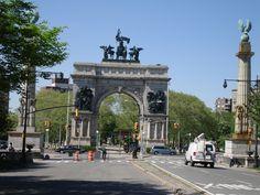 Brooklyn, New York -   Grand Army Plaza in Park Slope, my neighborhood