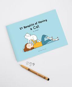 Cat Books - Shop.lingvistov.com #funny, #illustrations, #doodles, #joke, #humor, #cartoon, #cute, #comics, #books, #cat, #gifts, #cats, #illustratedbooks