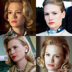 I've been watching a lot of Mad Men, and I love Betty Draper's make-up