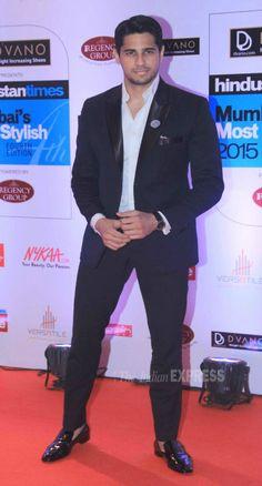 Sidharth Malhotra at the HT Style Awards 2015.