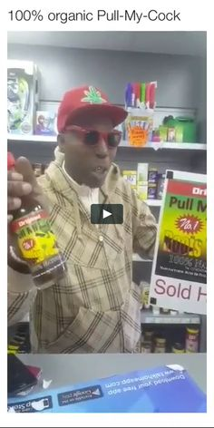 Afro-deez-yak in a bottle #humor #funny #lol #comedy #chiste #fun #chistes #meme