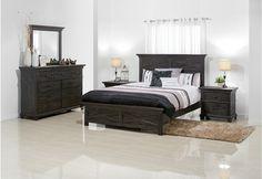 Vineyard 4 Piece Dresser Queen Bedroom Suite | Super A-Mart