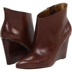 Nine West sleek wedge booties