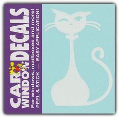 Car Window Decals: Fancy Prissy Cat Kitten | Family Stick Figures | Stickers Crazy Sticker Guy http://www.amazon.com/dp/B00ED2IYZE/ref=cm_sw_r_pi_dp_v8RKvb0JVNNPY