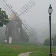 The Old Wind Mills on Eastern Long Island...