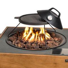 Happy Cocooning grillplaat kopen? | Bestel deze grillplaat voor de vuurtafel nu extra voordelig bij Vuurkorfwinkel.nl | Webshop keurmerk