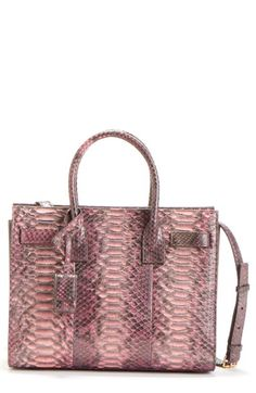 Saint Lau Baby Sac De Jour Genuine Python Tote Available At Nordstrom B L J High End Bags