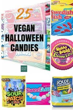 25 Halloween Candies That Are Naturally Vegan : huffpost taste   #vegan #halloween #candy