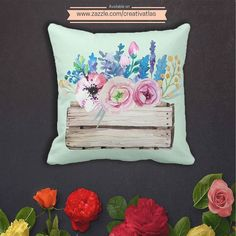 """PRODUCT : Romantic Watercolor Rustic Chic Floral Bouquet Throw Pillow  BUY FROM : http://ift.tt/2dND4zq  STORE CATEGORY: Home Decor  COLLECTION : Romantic Watercolor Rustic Chic Floral Bouquet  DESCRIPTION : Accent your home with these pastel throw pillows. The rustic and romantic watercolor floral bouquet illustration gives it the artsy touch with  a sweet close-to-nature vibe.  Made from 100% grade A cotton these pillows are the perfect complement to your couch!  DIMENSIONS :  16"""" x 16""""…"""