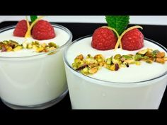 Crema de limón.  YouTube Panna Cotta, Pudding, Ethnic Recipes, Desserts, Food, Youtube, Limeade Recipe, Sweet Desserts, Food Recipes