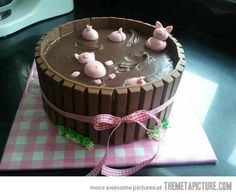 Pigs In The Mud Cake…