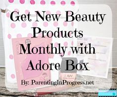 Check out our #Unboxing of the June's Adore Box Love this box subscription. See the blog for a special discount code #sponsored http://parentinginprogress.net/adorebox-june/