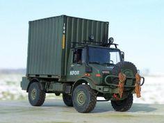 Unimog 1550 mit ISO-Container, Schweden (1:35 Revell)