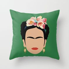 frida Throw Pillow........... YES