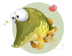"""Check out new work on my @Behance portfolio: """"Spawning pike"""" http://on.be.net/1O15gLC"""