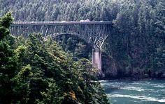 Deception pass bridge, crossed over for seven years!