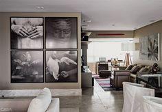 Na parede, fotos de Mario Cravo Neto.
