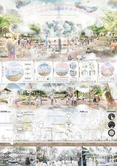 Interior Design Presentation, Architecture Presentation Board, Presentation Layout, Architectural Presentation, Presentation Boards, Landscape Diagram, Landscape Design Plans, Architecture Panel, Architecture Portfolio