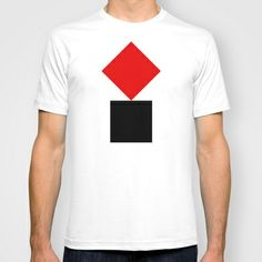 SUPREMATISM! T-shirt by THE USUAL DESIGNERS - $22.00