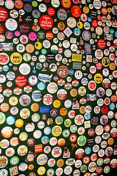 370 Vintage Buttons Collection Resale Junk Drawer Pins Political Advertising Lot   eBay