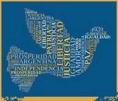 imagenes del 9 de julio independencia de argentina - Buscar con Google Argentina Travel, Sistema Solar, Ideas Para Fiestas, Teaching English, Crafts For Kids, Blog, Language, Education, School