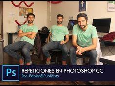 """Photoshop CC Efecto """"REPETICIONES"""" Español - http://graphixdragon.com/photoshop-cc-efecto-repeticiones-espanol/"""