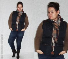 outfit inspiration for university and work / plus size / daily outfit / fall