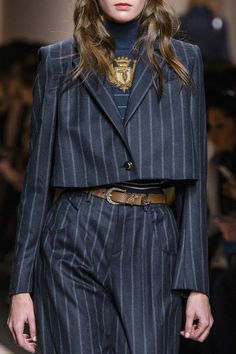 Trussardi 1911 at Milan Fall 2017 (Details)