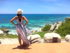 Island Off Cancun: What to Pack for an Isla Mujeres Vacation - This cute summer dress was perfect for my beach vacation! Click through to find out what else I packed!
