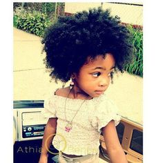 Most likely whenever I have kids, this is the hair they'll have. :)