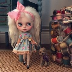 """.@dollytreasures 