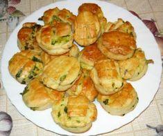 Wild Garlic, Hungarian Recipes, Hungarian Food, Savoury Baking, Health Eating, Zucchini, Biscuits, Bakery, Cookies