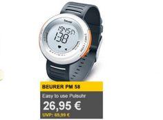 Allyouneed: Pulsuhr Beurer PM 58 für 26,95 Euro frei Haus https://www.discountfan.de/artikel/technik_und_haushalt/allyouneed-pulsuhr-beurer-pm-58-fuer-26-95-euro.php Unter den Tagesangeboten von Allyouneed ist heute die Pulsuhr Beurer PM 58 zu finden, die zum Schnäppchenpreis von 26,95 Euro zu haben ist. Andere Online-Shops verlangen für das gleiche Modell derzeit rund sechs Euro mehr. Allyouneed: Pulsuhr Beurer PM 58 für 26,95 Euro frei Haus (Bild: Al... #Pulsuhr