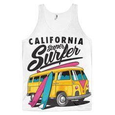California Classic fit tank top (unisex)