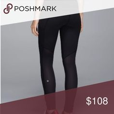 Speed Tight Mesh EUC - Special Edition mesh back Speed tights. lululemon athletica Pants Leggings