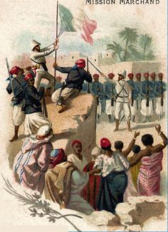The Fashoda crisis of 1898 was a confrontation between the British and French over control of the Sudan. The British wanted control of the water sources of the vital Nile River upon which Egypt (which they already controlled) depended.