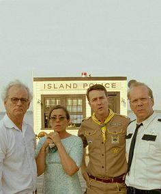 Moonrise Kingdom - Bill Murray, Frances Mcdormand, Edward Norton, Bruce Willis