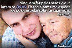 Familia.com.br | Responsabilidade de filhos e netos: Demonstrando amor aos avós #Avos #Amor