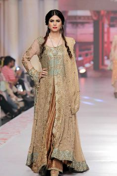 Telenor Bridal Couture Week 2015 Uzma Babar dresses Collection