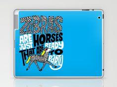 Party Horses Laptop & iPad Skin