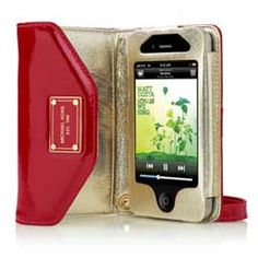 Gotta trade in my droid for an iPhone this fall. This clutch would be great for nights out. Michael Kors Wallet Clutch for iPhone Iphone 4s, Iphone Wallet, Clutch Wallet, Iphone Cases, Apple Iphone, Iphone Holder, Envelope Clutch, Michael Kors Clutch, Michael Kors Outlet