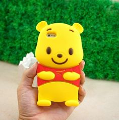 New Cute 3D Winnie The Pooh Bear Silicone Case Cover for Apple iPhone 4 4G 4S | eBay